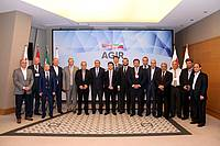 Участники заседании Координационного совета по исследованию инициативы создания энергетического коридора «Север–Юг»